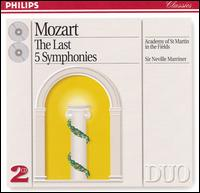 Mozart: The Last Five Symphonies - Academy of St. Martin-in-the-Fields; Neville Marriner (conductor)