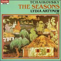 Peter Lyich Tchaikovsky: The Seasons, Op.37a - Lydia Artymiw (piano)