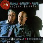 Violin Sonatas [Audio Cd] Franck; Debussy; Faure; Zuckerman and Neikrug