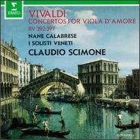 Vivaldi: Concertos RV 392 - 397 - Nane Calabrese (viola da gamba); I Solisti Veneti; Claudio Scimone (conductor)