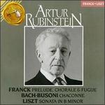 Cesar Franck: Prelude, Chorale & Fugue; Bach: Chaconne; Liszt: Sonata in B minor