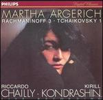 Rachmaninoff 3; Tchaikovsky 1
