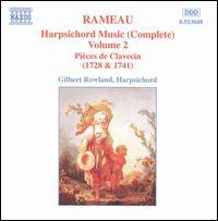 Rameau: Harpsichord Music (Complete), Vol. 2 - Gilbert Rowland (harpsichord)