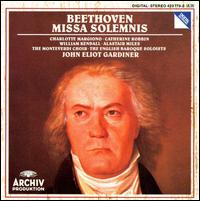 Beethoven: Missa Solemnis [1990 Recording] - Alastair Ross (organ); Elizabeth Wilcock (violin); English Baroque Soloists; Monteverdi Choir (choir, chorus);...
