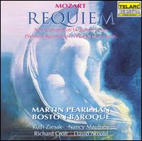 Mozart: Requiem (Completion by Robert Levin) - Boston Baroque; David Arnold (baritone); Nancy Maultsby (mezzo-soprano); Richard Croft (tenor); Ruth Ziesak (soprano)