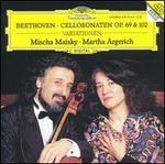 Beethoven: Cello Sonatas Nos. 3, 4 & 5 / (12) Variations, Opp. 69, 102: 1, 2; Woo 45