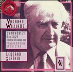 Vaughan Williams: Symphonies Nos. 8 & 9; Flouris for Glorious John