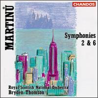 Bohuslav Martinu: Symphony Nos.2 & 6 - Royal Scottish National Orchestra