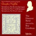 Joseph Haydn: Symphonies Nos. 76-78