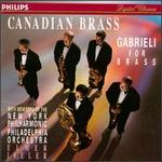 Giovanni Gabriele For Brass/Canadian Brass And Friends