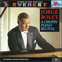 Chopin Piano Recital - Jorge Bolet (piano)