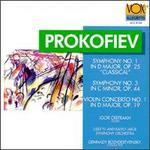 Prokofiev: Symphony Nos. 1 & 3/Violin  Concerto No.1