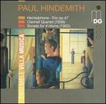 Hindemith: Heckelphone Trio, Op. 47, Clarinet Quartet, Sonata for 4 Horns