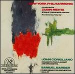 John Corigliano: Concerto for Clarinet; Samuel Barber: Third Essay for Orchestra