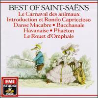 Best Of Saint-Sa�ns - Aldo Ciccolini (piano); Alexis Weissenberg (piano); Jacques Cazauran (double bass); Luben Yordanoff (violin);...