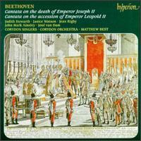 Beethoven: Cantatas; Opferlied; Meeresstille - Corydon Singers (vocals); Janice Watson (soprano); Jean Rigby (mezzo-soprano); John Mark Ainsley (tenor);...