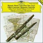 Mozart: Horn Concertos Nos. 2 & 3; Oboe Concerto; Bassoon Concerto