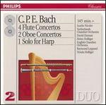 C.P.E. Bach: Flute Concertos; Oboe Concertos; Harp Solo