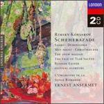 Nikolay Rimsky-Korsakov: Scheherazade; Sadko; Dubinushka; May Night; Christmas Eve; The Snow Maiden; etc.