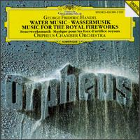 Handel: Water Music; Music for the Royal Fireworks - Orpheus Chamber Orchestra