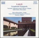 Edouard Lalo: Symphonie Espagnole; Pablo Sarasate: Zigeunerweisen; Ravel: Tzigane; Camille Saint-Sadns: Havanaise