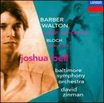 Barber, Walton, Bloch: Violin Concertos