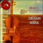 Brahms: Sonatas for Violin and Piano, 1 in G, Op. 78 / 2 in a, Op. 100 / 3 in D Minor, Op. 108 / Scherzo in C Minor