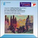 Paganini: Violin Concertos Nos. 1 & 4; Bottesini: Grand Duo Concertant