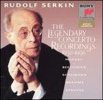 Serkin: the Legendary Concerto Recordings, 1950-1956