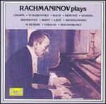 Rachmaninov plays Chopin, Tchaikovsky, Bach, Debussy