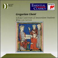 Gregorian Chant - Schola Cantorum of Amsterdam Students