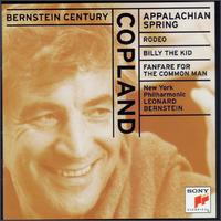 Copland: Appalachian Spring; Rodeo; Billy the Kid; Fanfare for the Common Man -