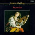 Musick Al'Italiana-Italian And English Music Of The 17th Century