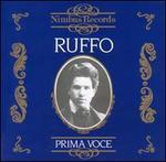 Prima Voce: Ruffo