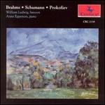 Brahms: Sonata for Piano & Clarinet/Schumann: Fantasy Pieces, Op. 73/Prokofiev: Sonata in D for Flute