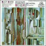 Carter: Piano Concerto; Variations for Orchestra