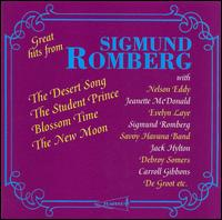 Great Hits from Sigmund Romberg - Cavan O'Connor (vocals); Debroy Somers Band; Evelyn Laye (soprano); Harry Bidgood's Broadcasters; Helen Gilliland (soprano);...