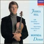 Saint-Sa�ns: Violin Concerto No. 3; Lalo: Symphonie espagnole