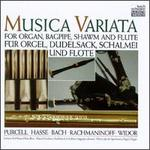Musica Variata for Organ, Bagpipe, Shawm, and Flute