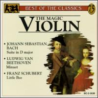 The Magic Violin - Aaron Rosand (violin); Jan Stanovsky (violin)