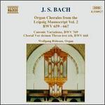 J.S. Bach: Organ Chorales from the Leipzig Manuscript Vol. 2, BWV 659-667