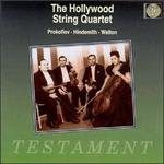 The Hollywood String Quartet Plays Prokofiev, Hindemith, Walton