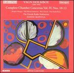 Vagn Holmboe: Complete Chamber Concertos, Vol. 4 - Danish Radio Symphony Orchestra; Jacques Mauger (trombone); Max Artved (oboe); Ole Edvard Antonsen (trumpet);...