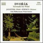 Dvor�k: Serenade for Wind; Leos Jan�cek: Ml�di; George Enescu: Dixtuor