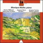 Darius Milhaud: Suite pour le piano; Jacques Ibert: Escales...; Joaquin Turina: Danses gitanes