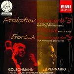 Serge Prokofiev: Piano Concerto No. 3 in C major; Chout Ballet Suite; Bela Bartok: Piano Concerto No. 3