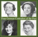 Four German Contraltos of the Past