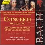 Bach: Concerti, Bwv 972-987-Arrangements of Other Composers (Edition Bachakademie Vol 111) /Watchorn (Harpsichord)