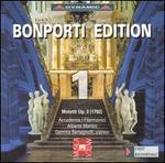 Bonporti Edition 1: Motetti, Op. 3 (1702)-Accademia I Filarmonici / Alberto Martini / Gemma Bertagnolli
