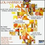 Lou Harrison: Suite for Violin with String Orchestra; Suite for Cello & Harp